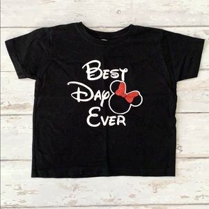 Disneyland Best Day Ever Minnie Girls 4T Shirt